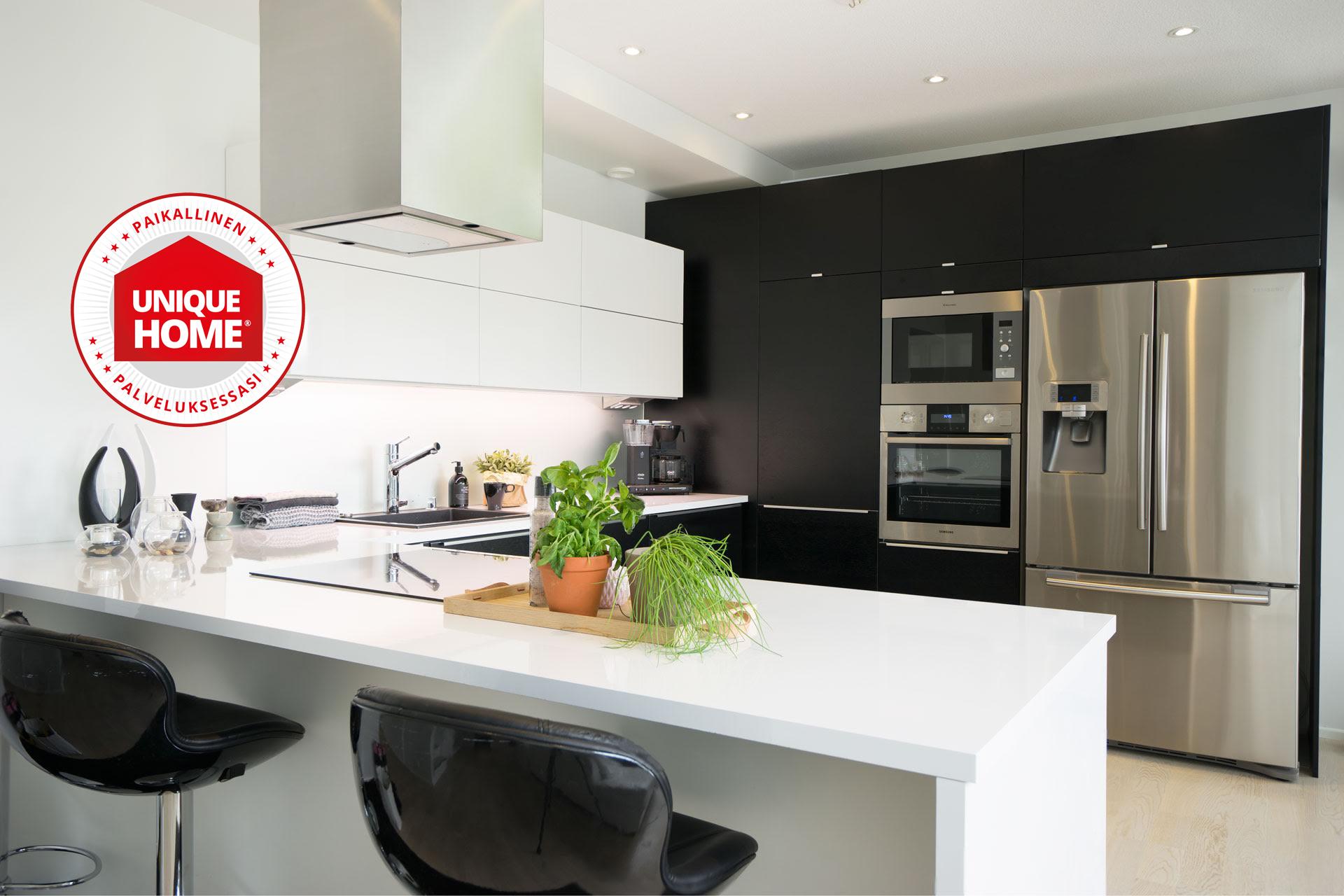 Unique Home-keittiöt Kuusistonkaareen